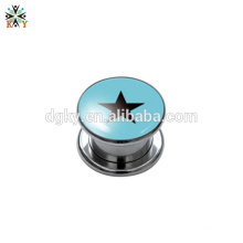 women ear gauges plugs Stainless steel piercing plugs