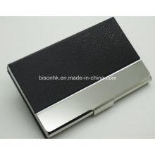 Titular de cartão de visita de alumínio colorido Mini