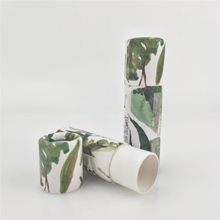 Eco Friendly Cylinder Deodorant Stick Packing Box
