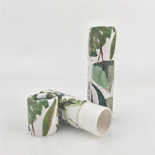 Eco-friendly Cylinder Deodorant Stick Packing Box