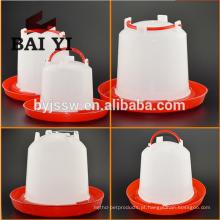 Bebedor de plástico de pote de frango de 1,5L 3L 6L 10L para fazenda de aves de capoeira
