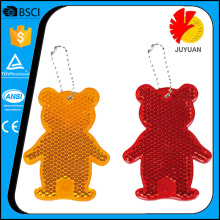 Acrylic+colorful+Bear+Honey+Key+Chain
