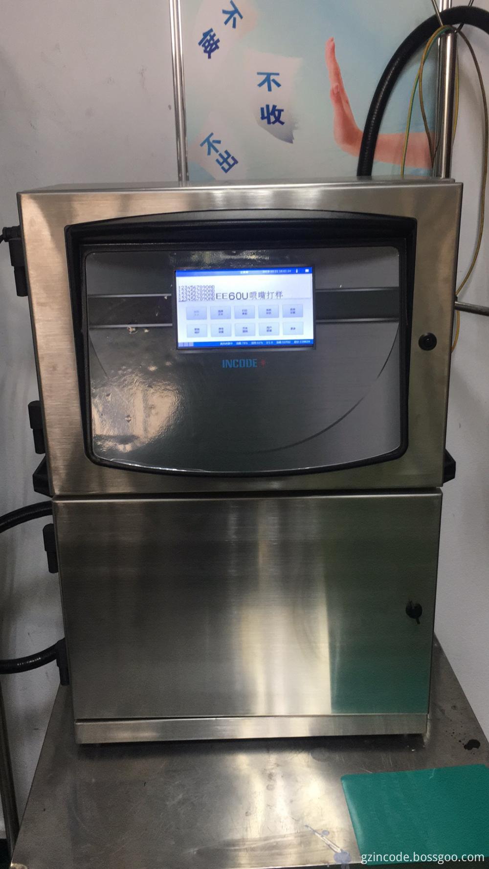 Small Character Inkjet Printer