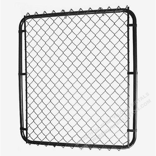 Chain Link Wire Mesh Fence Garden Gate