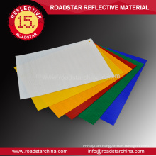 Self-adhesive rubber Reflective Sheeting For Roadsigns