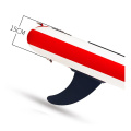 Sungoole inflatable fish surf surfboard paddle board longboard surfboard fiber stand up sup paddle board high quality for yoga