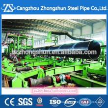 Tubo de acero de gran diámetro SSAW para la venta
