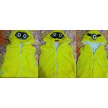 Minion Despicable Me One Eye Two Eyes Plush Winter Warm Vest (k-23)