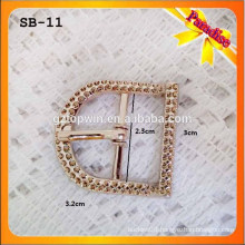 SB11 Lady Sandal accessory Small Metal Pin Shoe Buckles