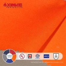 Tecido retardador de chama de nylon de THPC do algodão 12% de 7oz 88% para o macacão