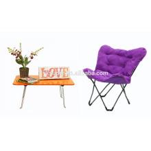 Hermosa silla plegable mariposa / silla perezosa