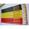 Long crayon d'étudiant avec effaceur Tc-P002
