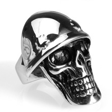 2019 new Stainless Steel Ring Skull Jewelry Wholesale