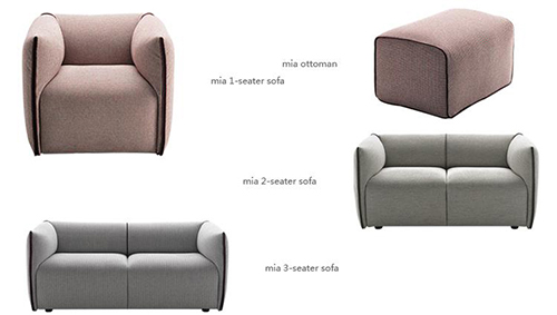 Mia Single Sofa