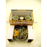 Ceramic/pocerlain espresso sets with gift box