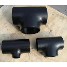 Te del tubo de soldadura a tope de acero al carbono