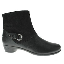 Überall in Style Casual Leder Stiefeletten