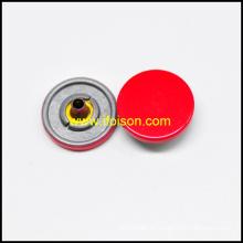 Botón rápido con color rojo esmalte