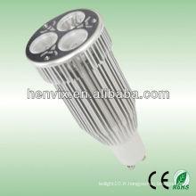 High Power MR16 3 * 3W 10W Led Spotlight