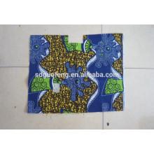 Tela de algodón impresa estupenda de la impresión 100% de la cera Fabric Factory de Linyi de la tela peinada algodón 100%