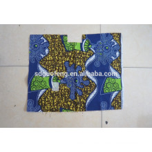 African Super Wax Print Fabric100%Cotton Combed Fabric Different Pattern Linyi Factory