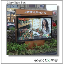 Village Road Side Advertising Light Box Display
