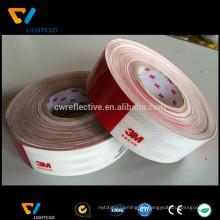 China 2016 3m Diamant 983 prismatische rot und weiß reflektierende Folienband
