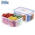 contenedor de plástico para alimentos de microondas