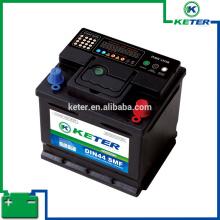 Bateria de carro elétrico 12 v 75d23l bateria de carro coreano qualidade