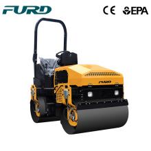 1t double drum roller compactor vibrator roller asphalt vibrator road roller FYL-880