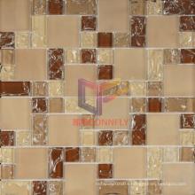 Beige Grossy and Matt Mixed Mosaic (CCG200)
