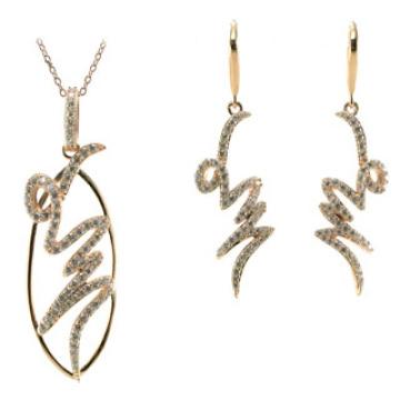 Wholesale Jewelry Woman′s Fashion AAA CZ 925 Silver Set (S3284)