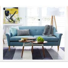 Estilo japonês moderno sala sofá de tecido simples