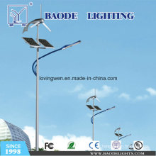 Luzes de rua híbridas do vento solar do diodo emissor de luz 70W
