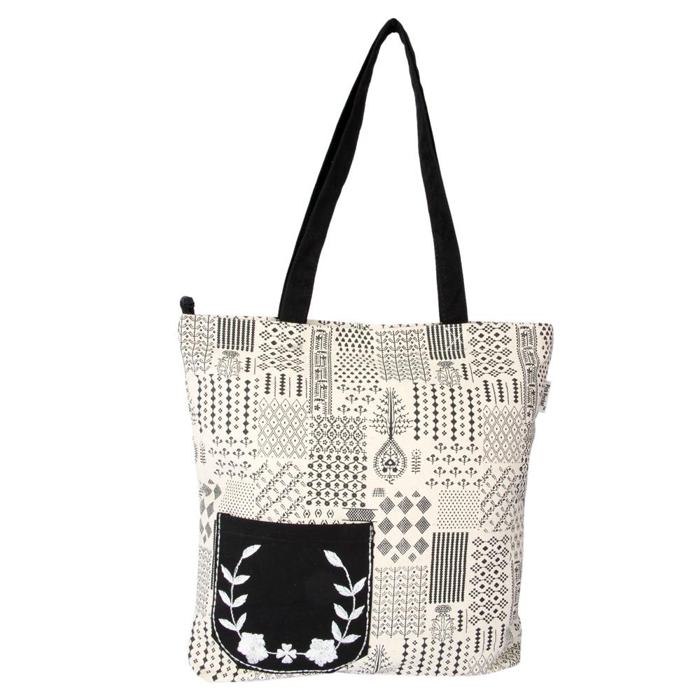 canvas Simple Casual handbag