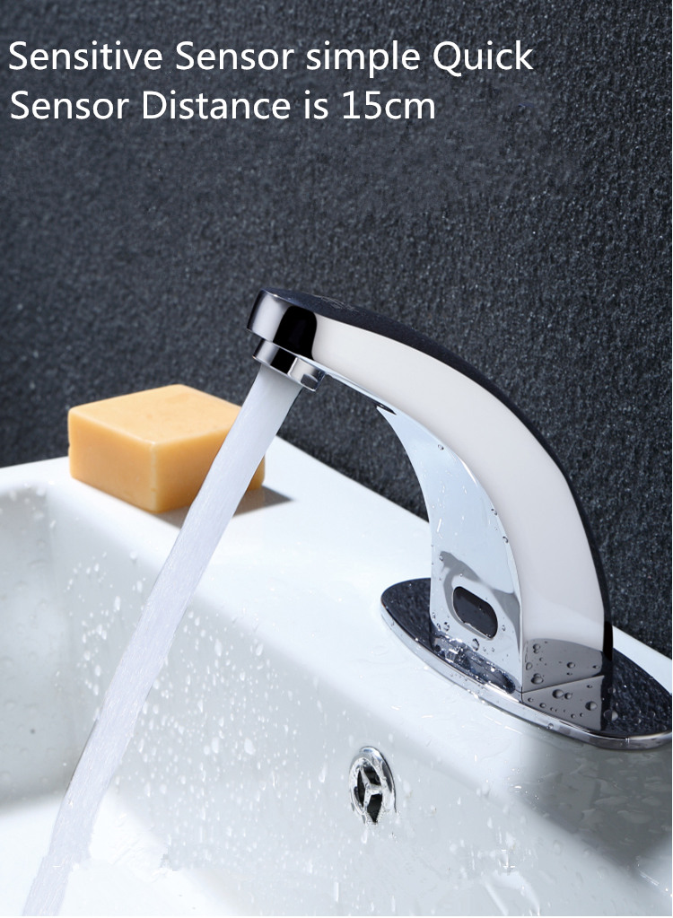 Automatic Infrared Sensor Faucet Brass