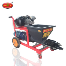 Cement mortar spraying machine Plaster putty spraying machine