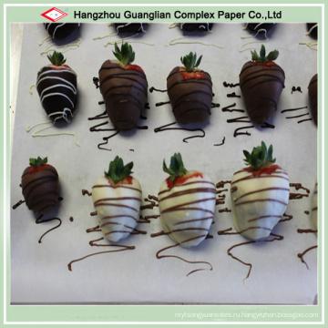 Управление ОЕМ приготовления пищи Бумага для выпечки с силиконовым покрытием в качестве еды