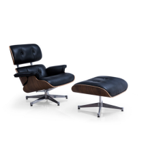 Replica Charles eames Lounge Chair y otomano