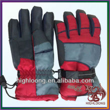 best selling and popular men winter leather ski gloves