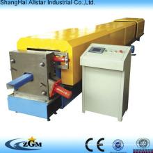 tube carré profileuse machine/descente pluviale profileuse