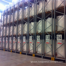 Compact Pallet Rack with Mobile Base
