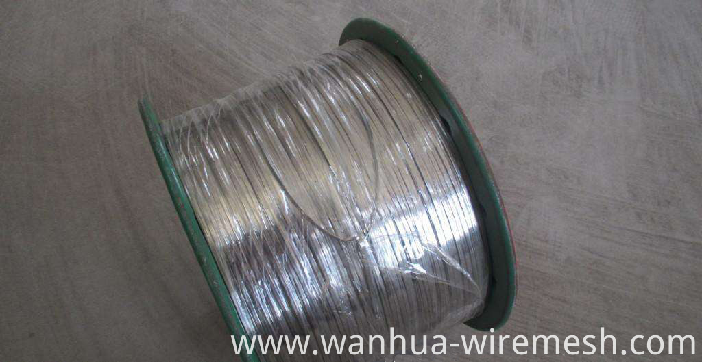 Hot dipped Galvanized flat wire 6mm (1)