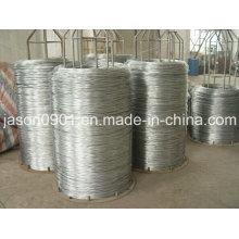 Un fil d'acier de qualité, un fil en acier inoxydable, un fil de chaleur à l'huile, un fil de sphéroïdisation