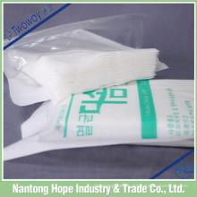 Hisopos no tejidos estériles absorbentes desechables
