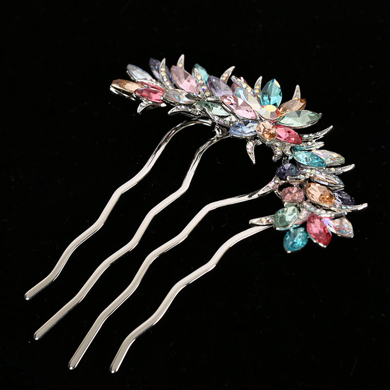 crystal hairpin with rhinestone