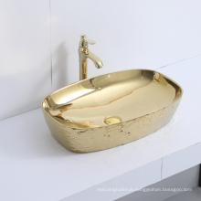 ceramic sink double vanity basin for bathroom caninet factory