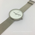 New Style Stainless Steel Watch with Mesh Band Bg490