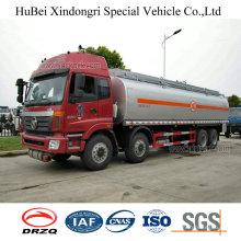 29cbm Foton Auman Euro 4 Petrol Gasoline Oil Tanker Truck with Cummins Engine