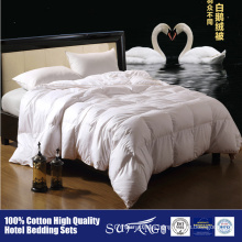 Cheap white duck feather down duvet hotel home use down comforter